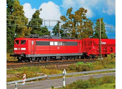 Электровоз BR 151 DB AG VI, красный с резъемом для декодера PluX22
