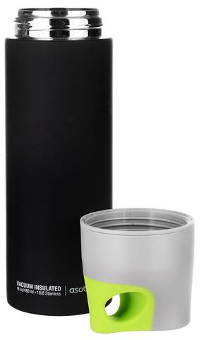 Термос Asobu Le canal (0,48 литра), черный