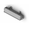 Поворотный кронштейн для светильника аварийного освещения производственных помещений Acciaio Emergency LED