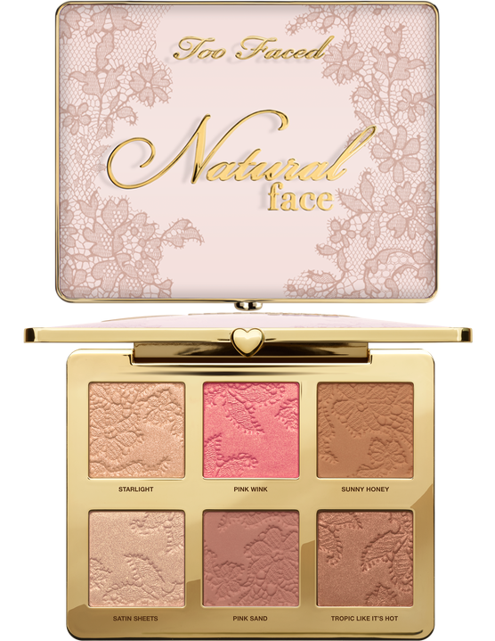 Палетка для лица Too Faced Natural Face New