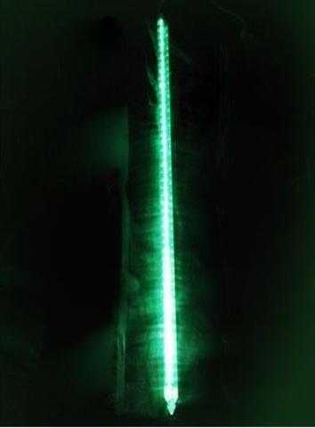 Гирлянда метеоритный дождь 100 см тающая сосулька  led
