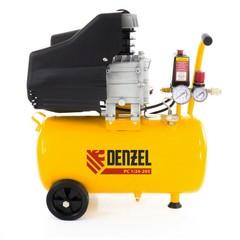 Компрессор пневматический DENZEL 1,5 кВт, 24 л