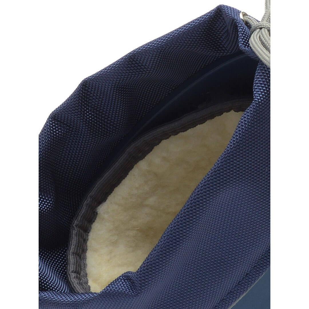 Сапоги Nordman Silla Синие с мехом и манжетами