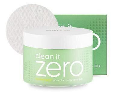 BANILA CO Clean It Zero Cleansing Pore Clarifying Toner Pad очищающие пэды с тонером 120мл