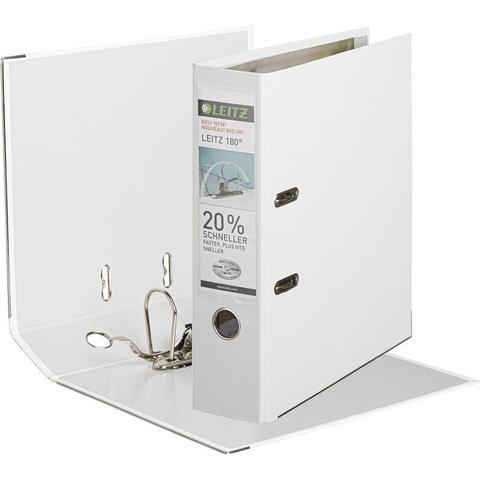 Папка-регистратор Leitz 180° 80 мм белая