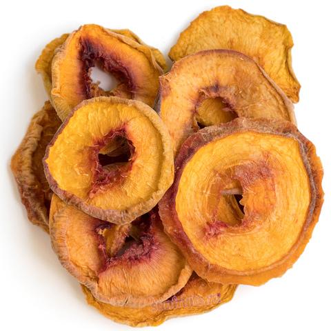 фруктовые чипсы из персика