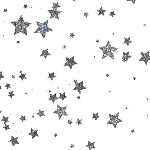 Звездочки на белом