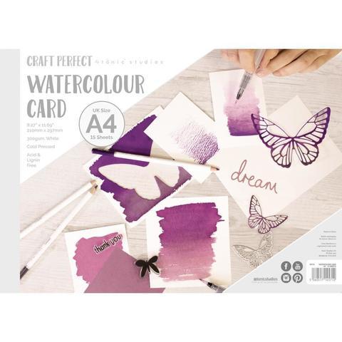 Альбом зарисовок (открыток)  Tonic Studios Watercolor Paper Pad А4 -15 листов