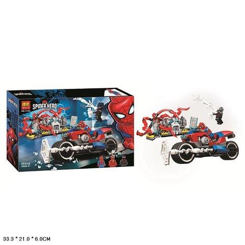 Конструктор Человек-Паук - Спасательная Операция на Мотоциклах - 252 дет