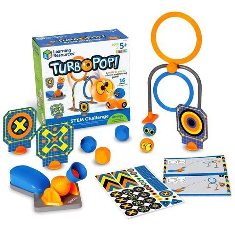 LER9292 Развивающая игрушка Попади в цель Турбо (серия Crashapult STEM) Learning Resources