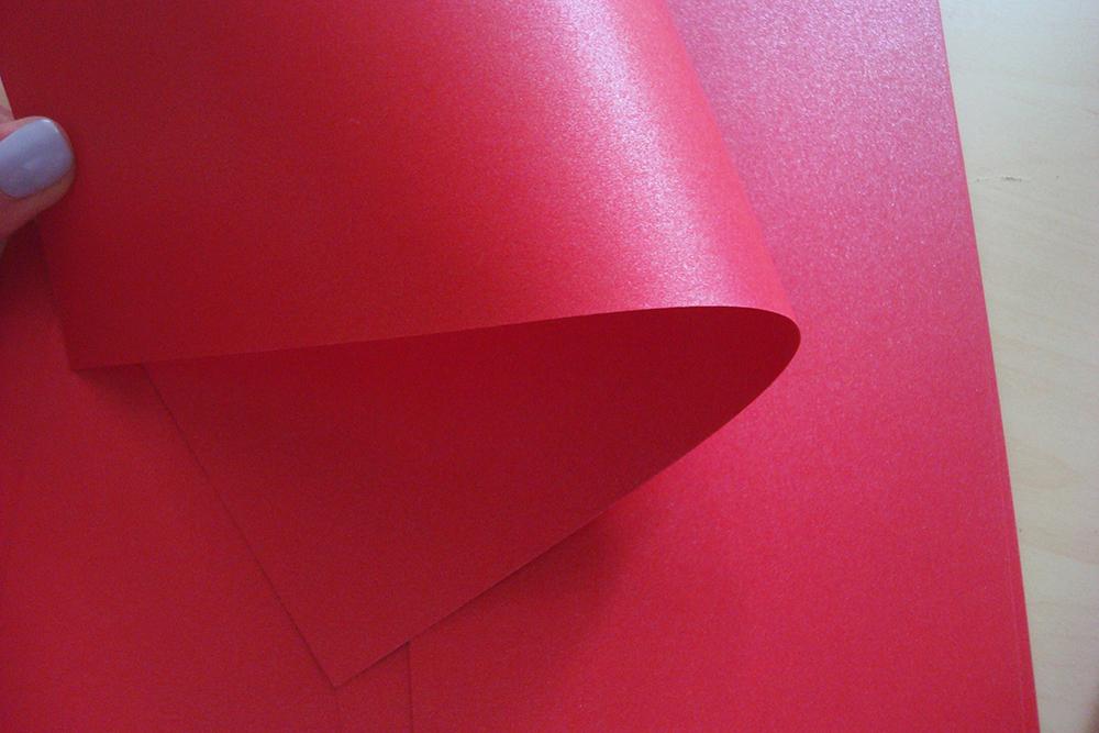 Кардсток «Волшебство» (Императорский красный) 290 гр/м2