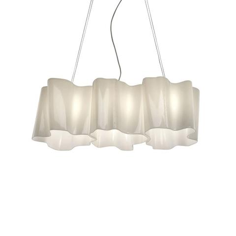 Подвесной светильник копия Logico by Artemide (3 плафона, горизонтальный)