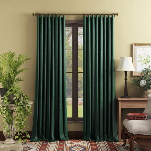 Комплект штор Тейлор зеленый