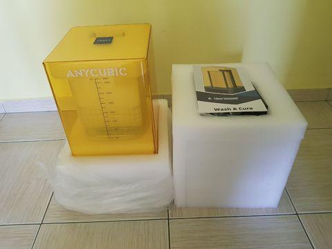 Anycubic Wash&Cure УФ камера + УЗ очиститель
