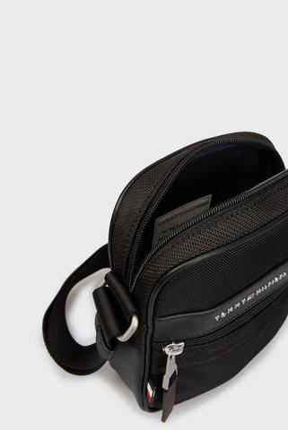 Мужская черная сумка через плечо ELEVATED NYLON MINI REPORTER Tommy Hilfiger