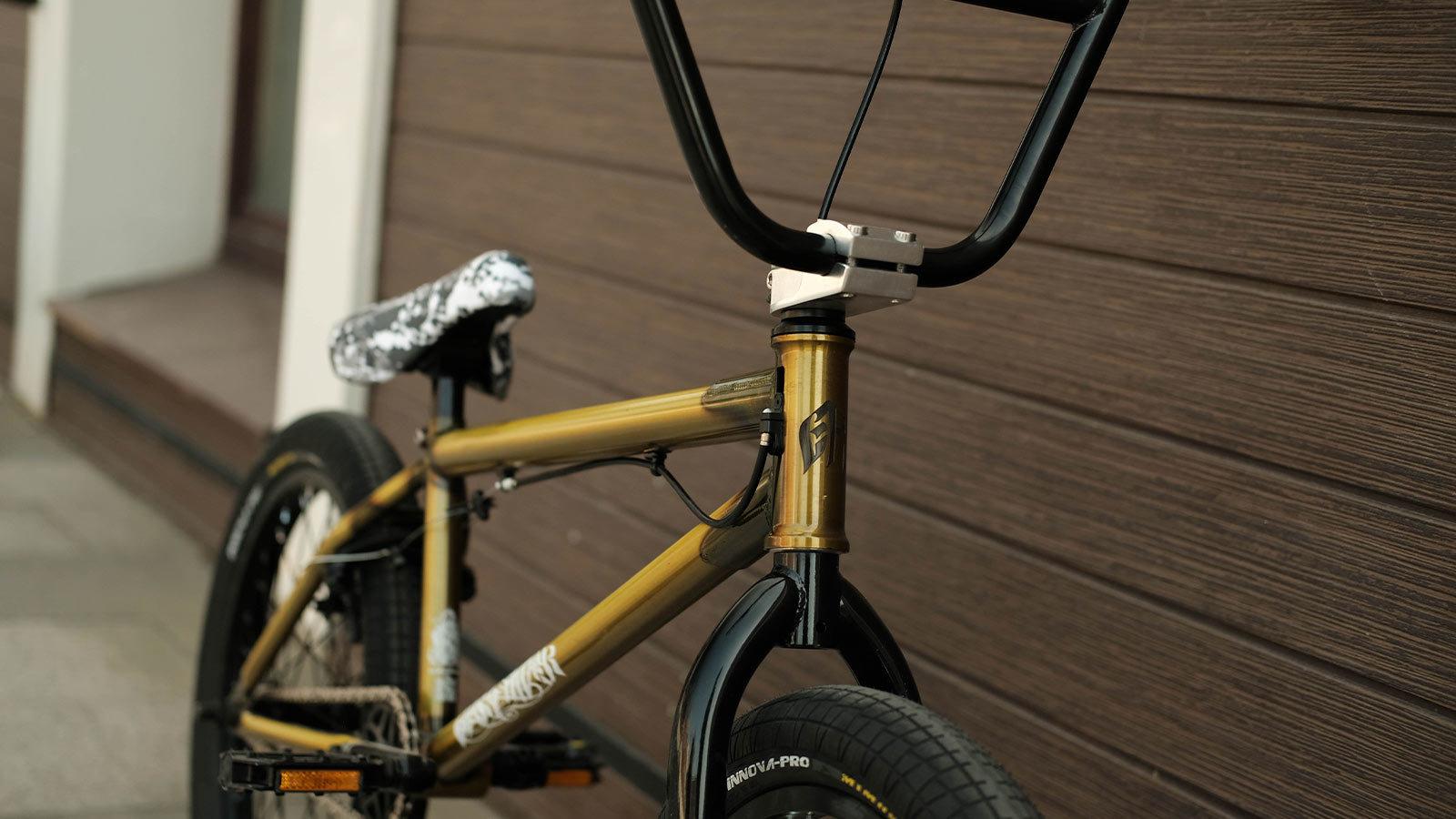 велосипед bmx трюковой руль