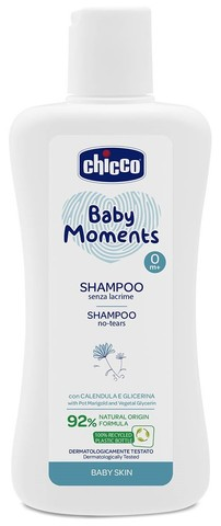 Chicco. Шампунь Baby Moments с календулой, 200 мл