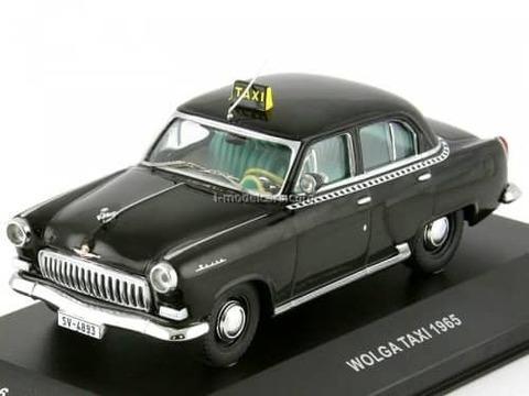GAZ-21 Volga Taxi DDR 1965 black CCC016 IST Models 1:43