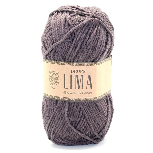 Пряжа Drops Lima 5610 шоколад