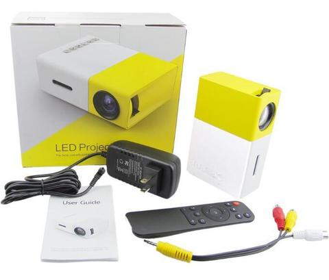 Мини  проектор YG-300 Led домашний портативный