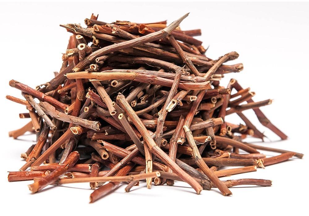 Травы Сабельник болотный, лист comarum-1.jpg
