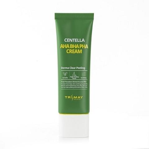 Trimay Aha Bha Pha Centella Cream крем с кислотами AHA-BHA-PHA и центеллой азиатской