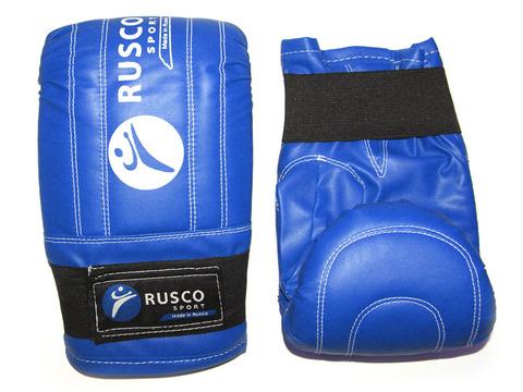Перчатки снарядные RuscoSport, синие, размер L.