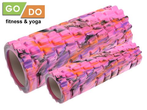 Валик-матрёшка для йоги полый жёсткий: YJ-5008-2
