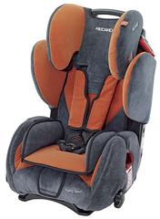 Детское кресло RECARO Young Sport (материал верха Topline Microfibre Grey/Pepper)