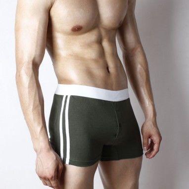 Мужские трусы домашние шорты с пуговицей Superbody Home Pants Grey Button