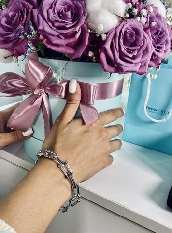Браслет Tiffany с сужающимися звеньями