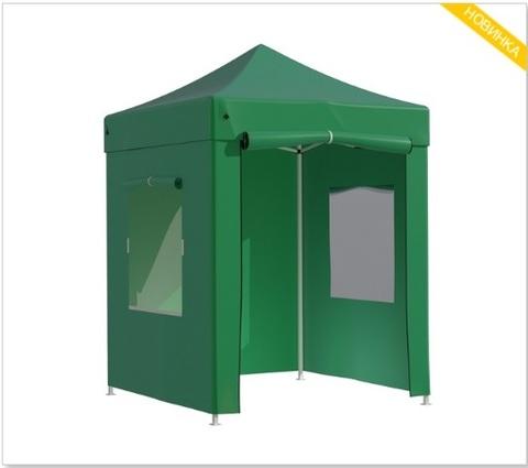 Тент-шатер быстросборный Helex 2х2х3м полиэстер зеленый