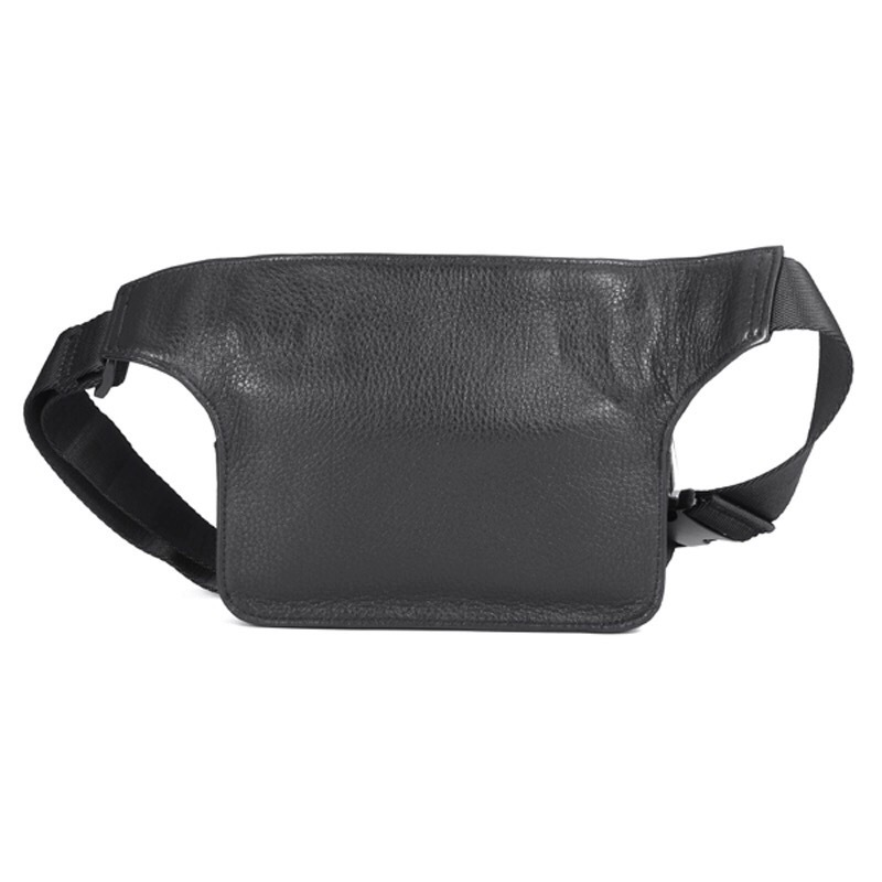 Мужская сумка на пояс из кожи HT p01311