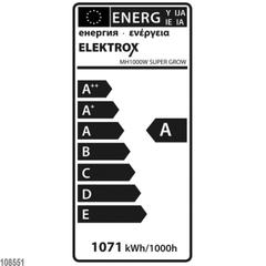 ДНаТ лампа Elektrox SUPER GROW MH Lampe 1000w