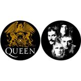 Слипмат Для Проигрывателя Виниловых Пластинок (Queen - Crest & Faces)