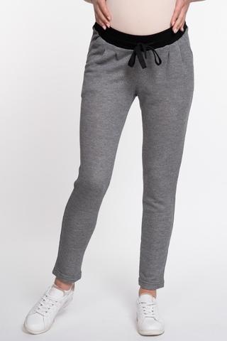 Спортивные брюки для беременных 10079 антрацит меланж
