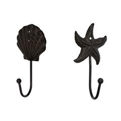 Крючок чугунный в ассортименте (Морская звезда, ракушка)