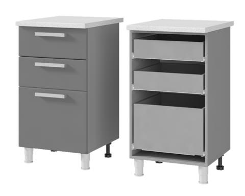 Шкаф-стол с 3-мя ящиками (500*820*600) 5Р3