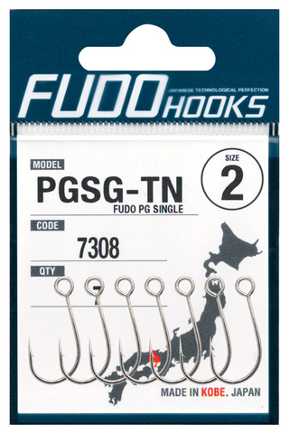 Крючки FUDO PG SINGLE 7308 TN