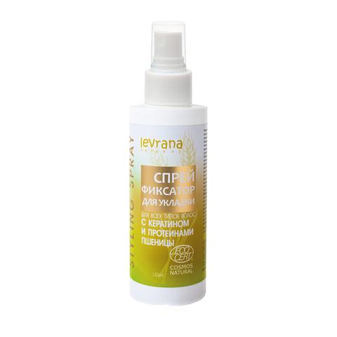 Спрей для укладки волос с протеинами пшеницы 150 мл.