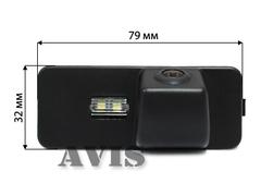 Камера заднего вида для Volkswagen Polo V HATCH Avis AVS312CPR (#103)
