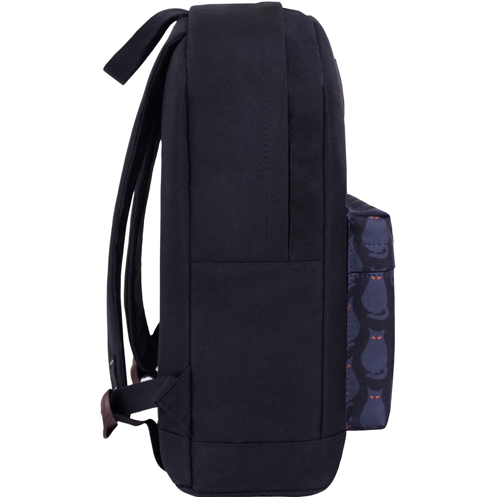 Рюкзак Bagland Молодежный W/R 17 л. чорний 193 (00533662) фото 2