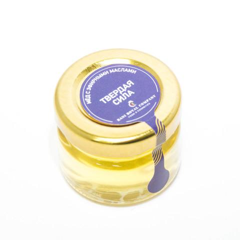 Мёд с эфирными маслами «Твёрдая сила» 30 г