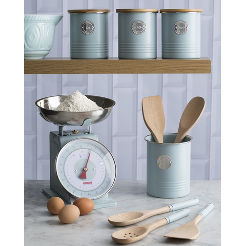 Весы кухонные Living голубые 4 кг