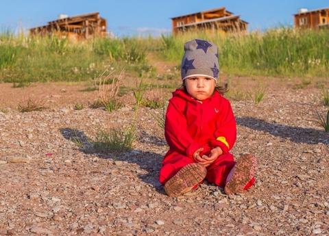 Комбинезон-дождевик Хиппичик непромокаемый красный