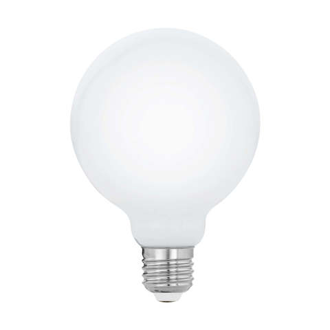 Лампа  LED филаментная диммируемая из опалового стекла Eglo MILKY LM-LED-E27 7W 806Lm 2700K G95 11771