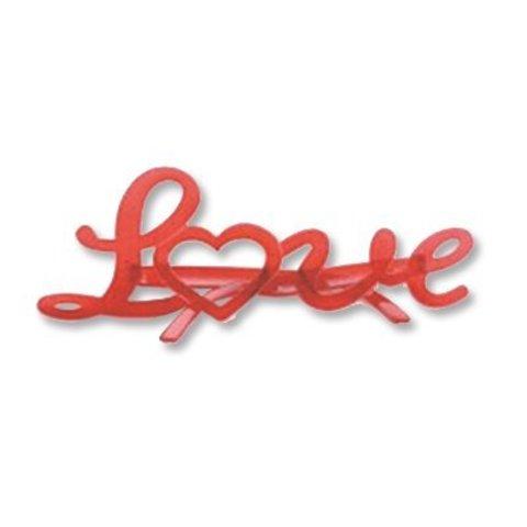 Очки Love Любовь красные/G