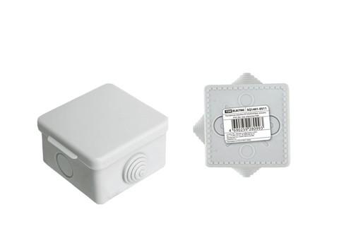 Коробка распаячная ОП 80х80х50мм крышка IP54 TDM