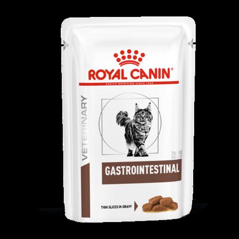 Royal Canin Gastro-Intestinal Консервы для кошек при проблемах с ЖКТ (Пауч)