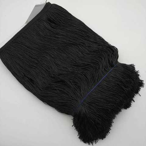 Бахрома 30 см, черный